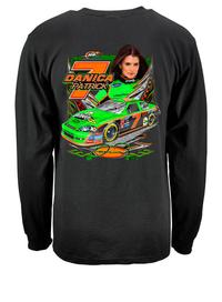 Long Sleeve Razor Danica Nascar shirt Black
