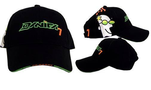 Danica Patrick Go Daddy Wedge Black Cap