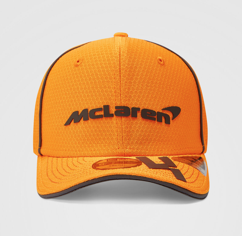 Lando Norris 2021 Team 9FIFTY Cap Papaya
