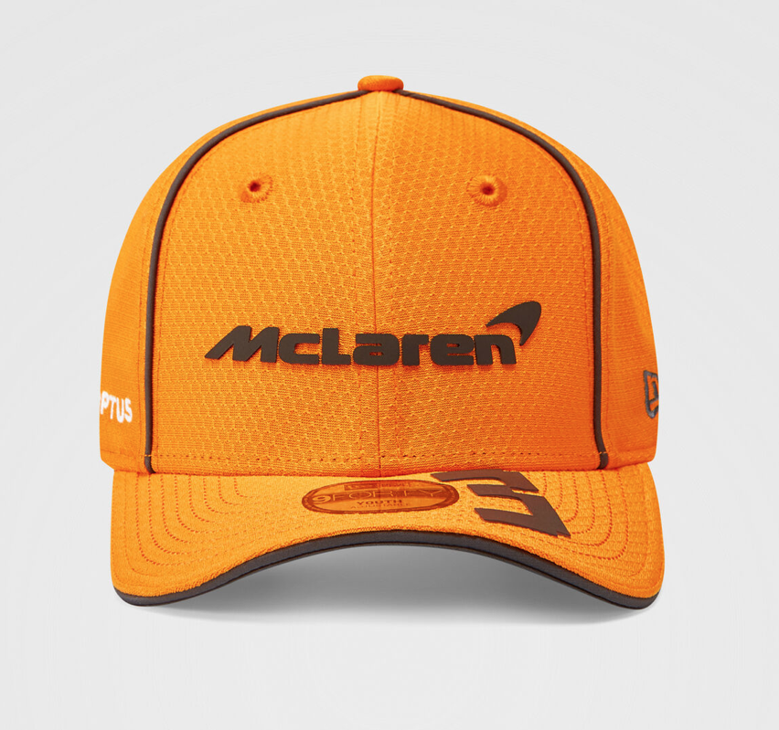 Daniel Ricciardo 2021 Team 9FORTY Cap Papaya