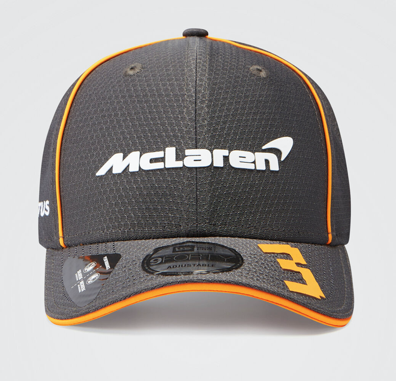 Daniel Ricciardo 2021 Team 9FORTY Cap Antracit